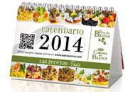 Al Margen Comunicación Calendario y díptico de agradecimiento para Peña de Baena.