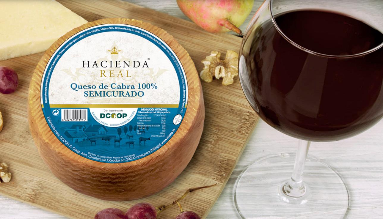 Diseño de etiquetas para queso