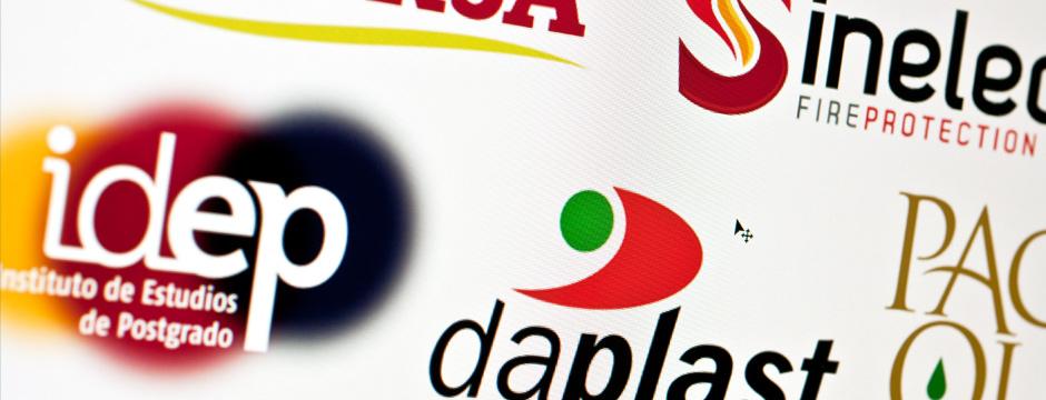 Diseño de logotipos.