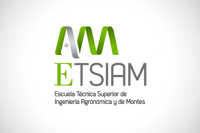 ETSIAM, diseño de logotipo