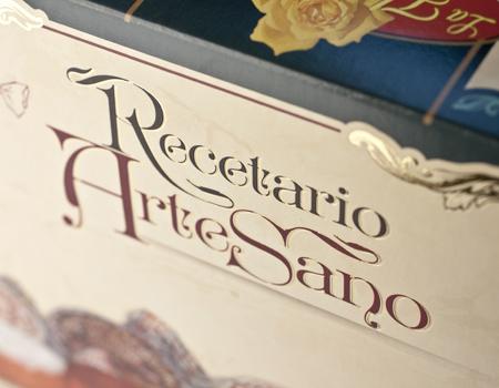 Diseño de packaging para la caja de dulce artesano la Flor de Rute.