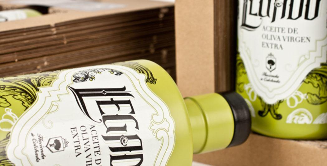 Diseño de packaging aceite de oliva para exportación Estados Unidos