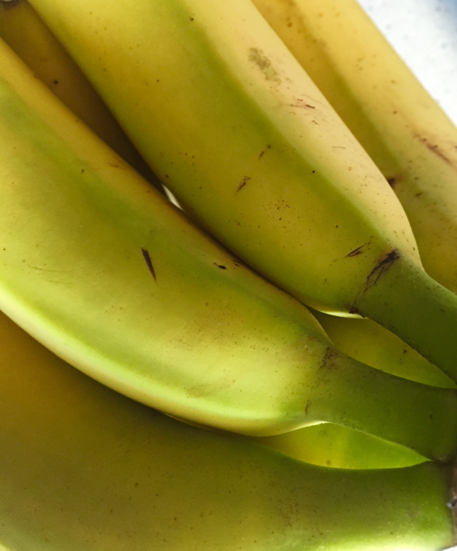 Plátanos con fibroina