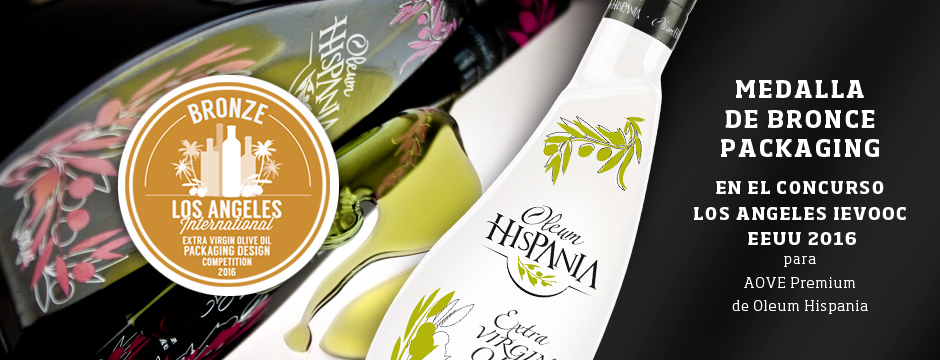 Premio en packaging aceite para Oleum Hispania