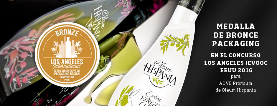 Premio en packaging aceite para Oleum Hispania