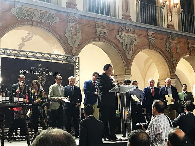 acto entrega de premios DOP Montilla Moriles