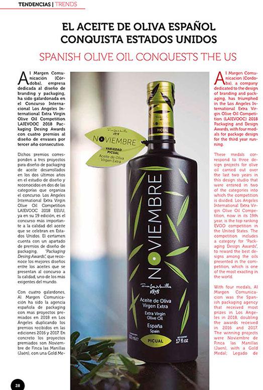El aceite de oliva español conquista Estados Unidos