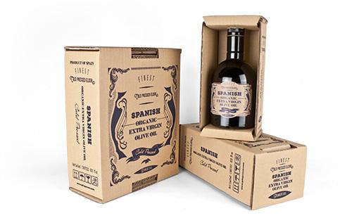 Packaging aceite de oliva. Estuches de 1 y 2 botellas. Etiqueta aceite exportación USA. Gringo Cool entre los 14 aceites de oliva más vendidos en Amazon USA