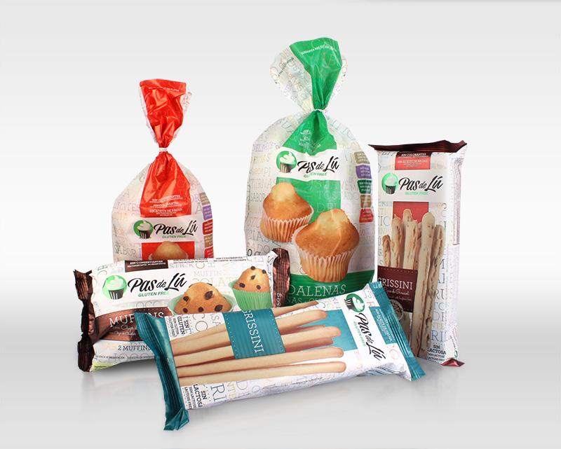 Pas de Lu packaging flexible panadería y repostería