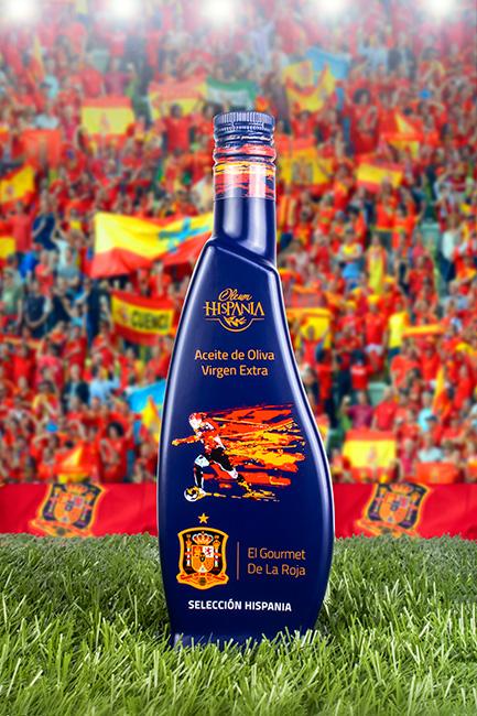 La Roja presenta su packaging para aceite