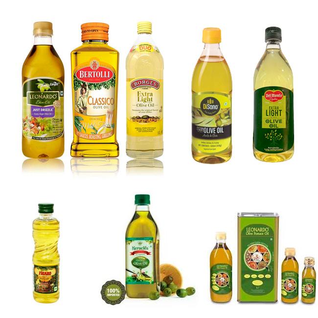 Packaging de aceite de oliva en India