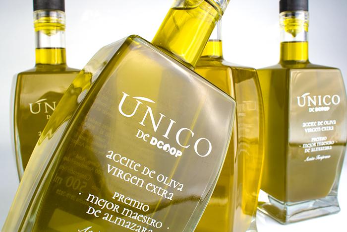 Packaging Premium aceite de oliva Dcoop