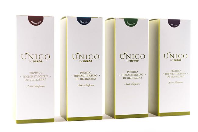 Diseño de cajas para botella premium Dcoop