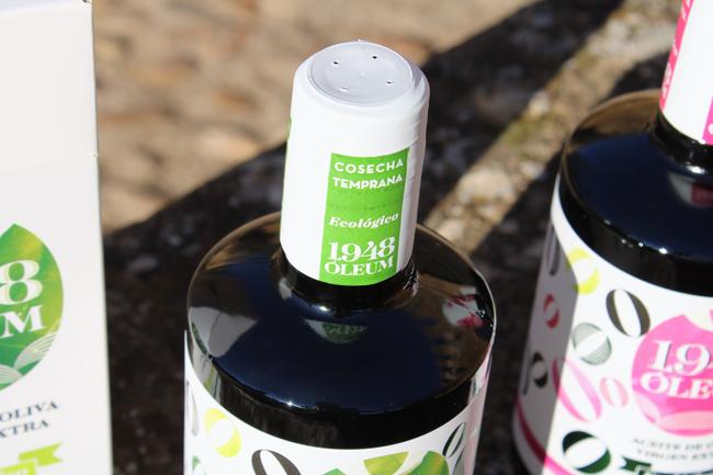 Nuevo packaging aceite 1948 Óleum