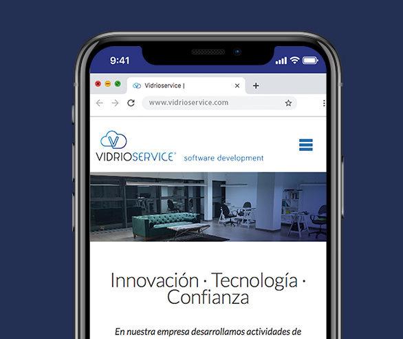 Web Vidrioservice