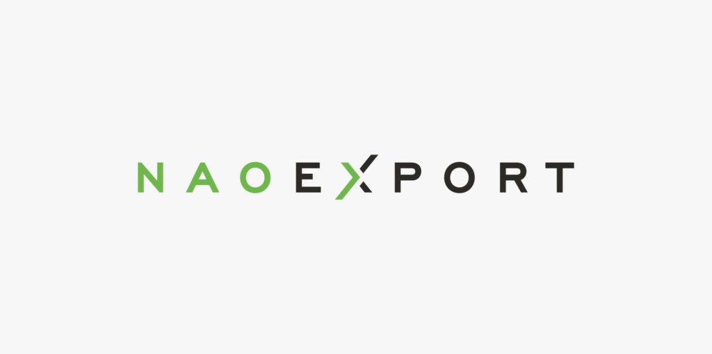 Branding NAO EXPORT, diseño de logotipo