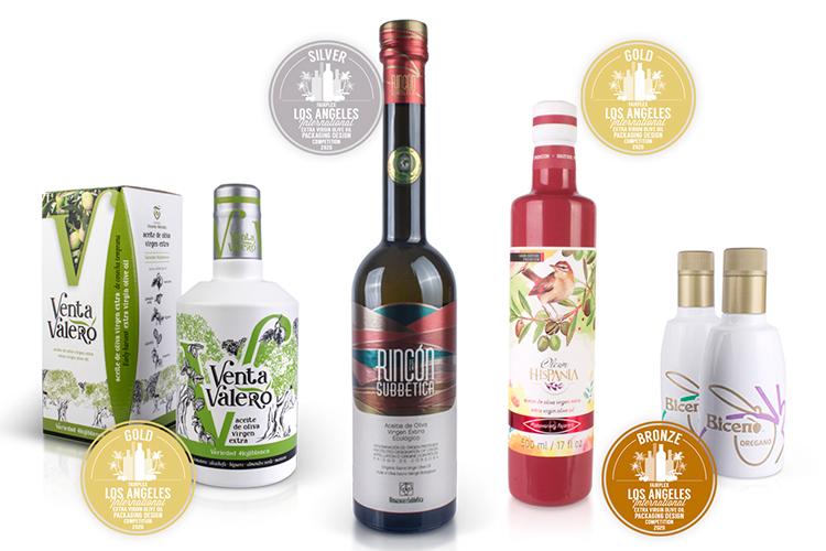 4 Nuevos premios de packaging para aceite en USA