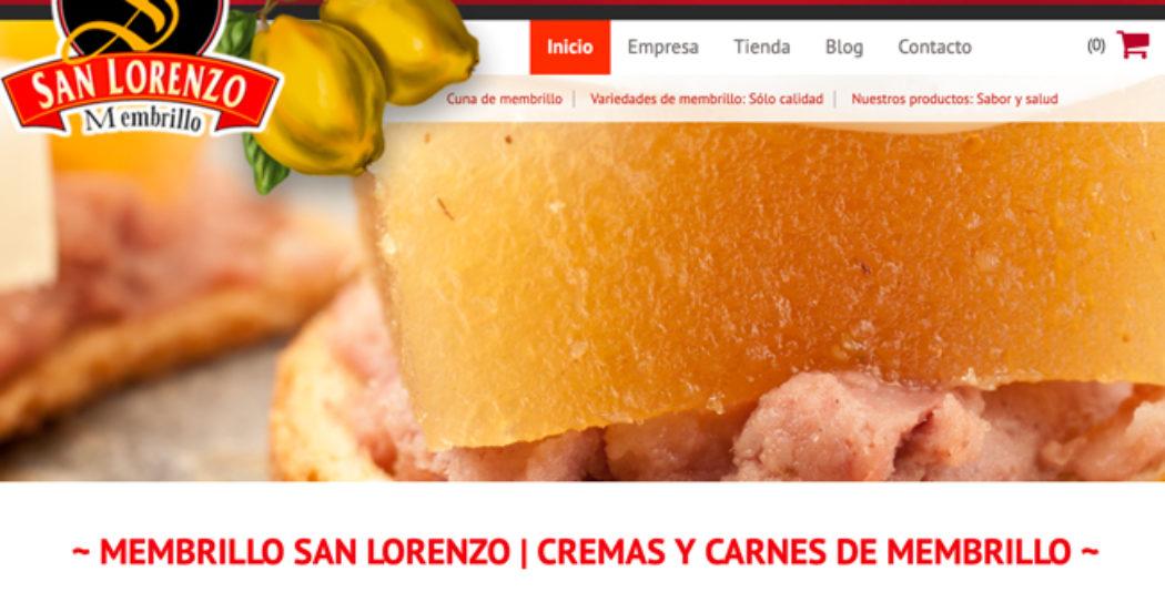 Web de Membrillo San Lorenzo