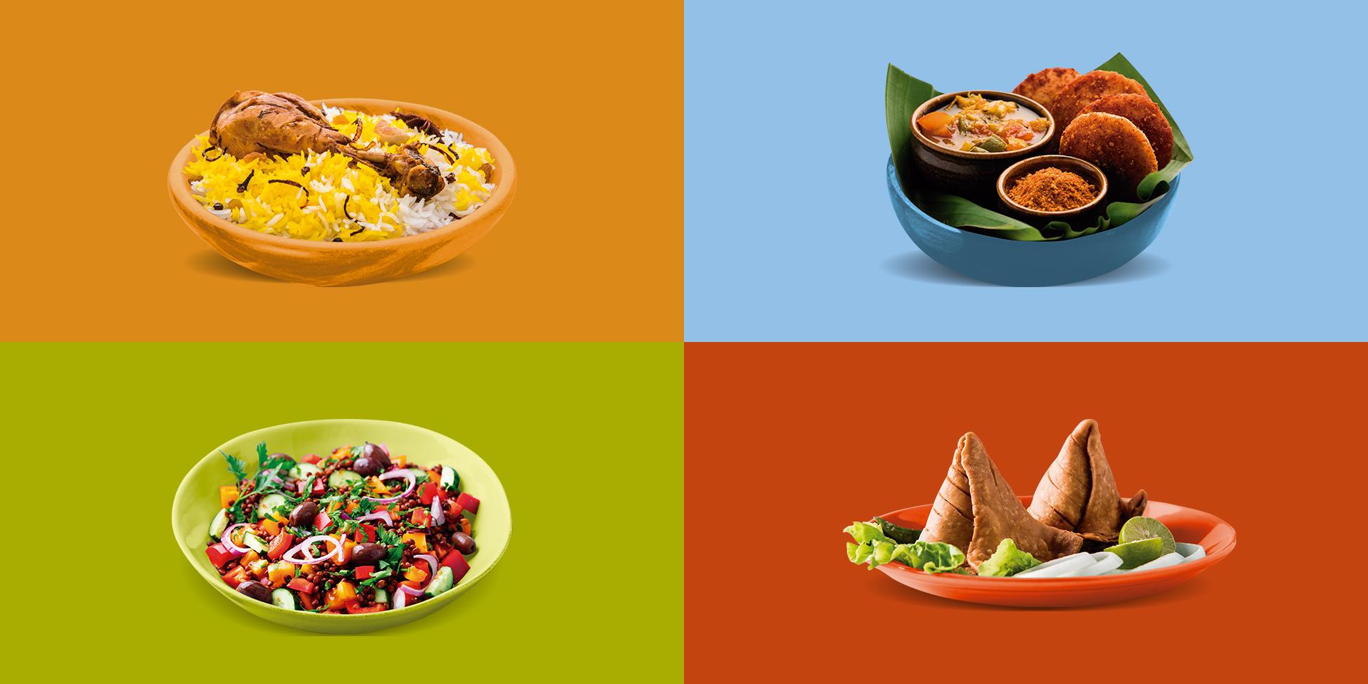 Platos típicos de la cocina Hindú