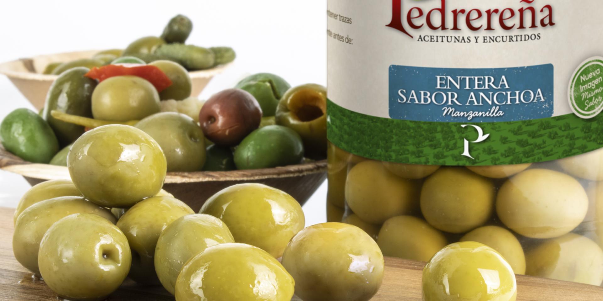 Branding y packaging para aceitunas y encurtidos
