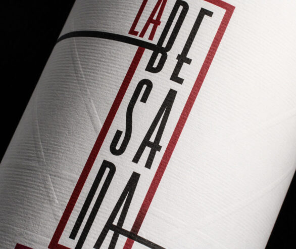 Wine label design La Besana