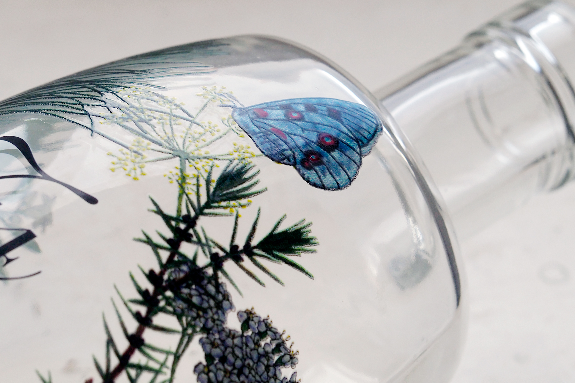 Paradisus Finca Tossal. Diseño de packaging gourmet para aceite de oliva. Serigrafia de botella.