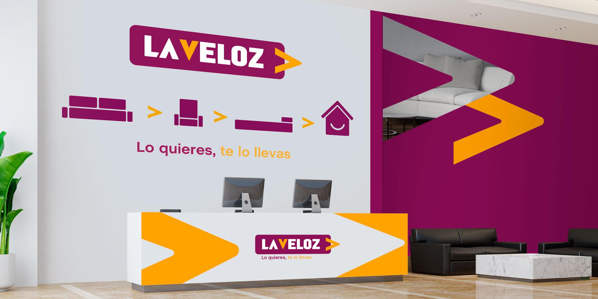 Branding Tiendas La Veloz