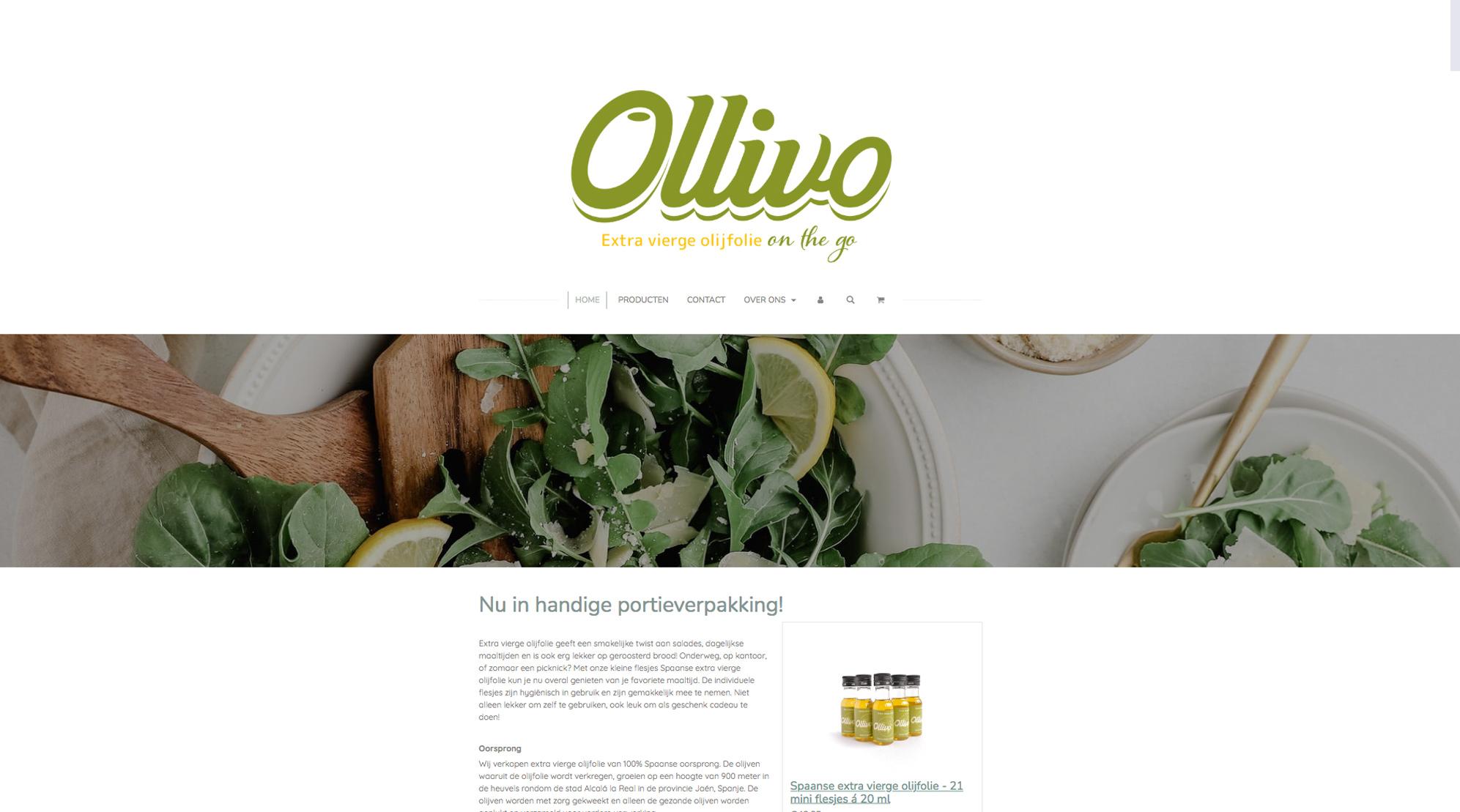 Ollivo branding on the go para aceite en Países Bajos