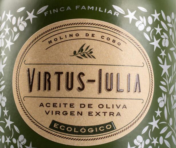 Virtus Iulia packaging con historia